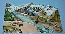 Sustenstrasse Steingletscher Gwachtenhorn und Tierberge Autocar Used Postcard