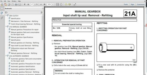 OFFICIAL WORKSHOP Manual Service Repair Renault Megane 2002-2008