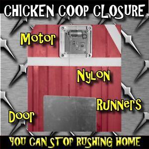 Automatic Auto Chicken Poultry House Coop Door Opener