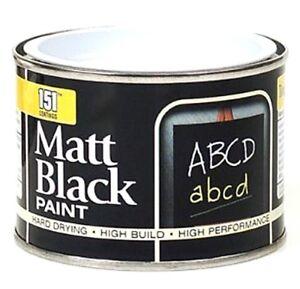 151-Schwarz-Brett-Schule-Tafel-Farbe-Kreide-Matt-180ml-Langlebig-Wiederbeleber