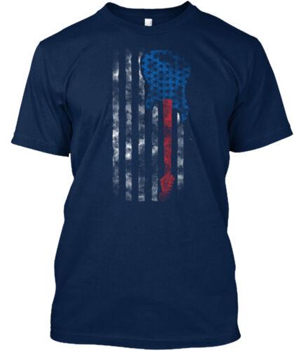 Guitare Drapeau Américain Couleur Standard Unisexe T-Shirt