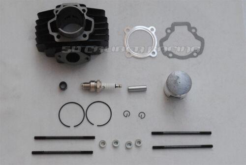 50 Caliber Racing Yamaha PW50 50cc Big Bore Top End Kit 60cc Cylinder 1981-2009