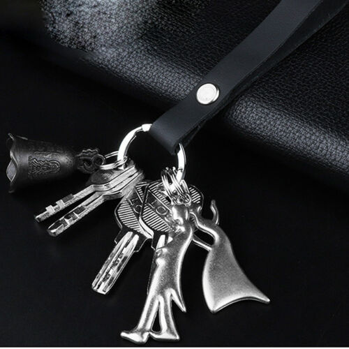 Key Chain With PU Leather Strap Outdoor//Belt//Loop//Key Chain//Holder one