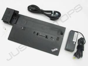 Lenovo THINKPAD T440 T440s (Intel Grafik) Pro Dockingstation +Schlüssel +90W PSU