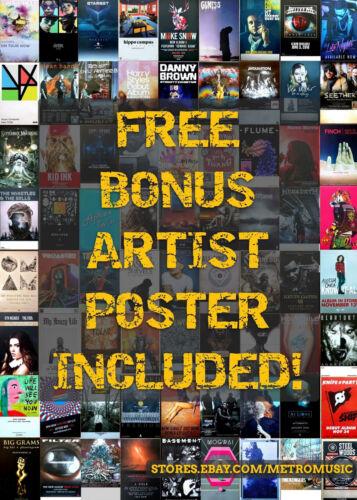ICEAGE Beyondless 2018 Ltd Ed New RARE Poster FREE Indie Rock Punk Alt Poster!