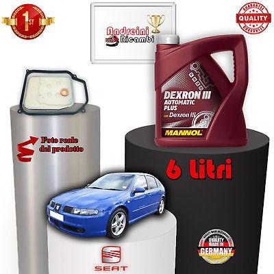 Bello Kit Filtro Cambio Automatico E Olio Seat Leon 1.9 Tdi 110kw Dal 2005 ->2006 1003 Prezzo Moderato