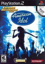NEW SEALED Karaoke Revolution Presents American Idol PS2 Video Game sing dance
