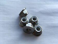 5 Titanium Rear Sprocket Mount Nuts Nut Self Lock Aprilia RS 250 RS250