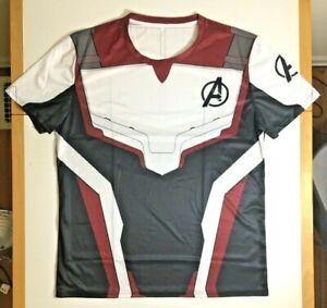 Marvel-Avengers-Endgame-Quantum-Realm-Uniform-T-Shirt-5XL-Mens-Cosplay