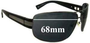 Sfx Replacement Sunglass Lenses Fits Giorgio Armani Ga597/s - 68mm Wide