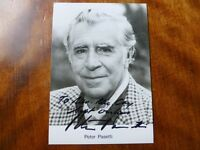 AUTOGRAPH of PETER PASETTI - GERMAN Actor TV & Film