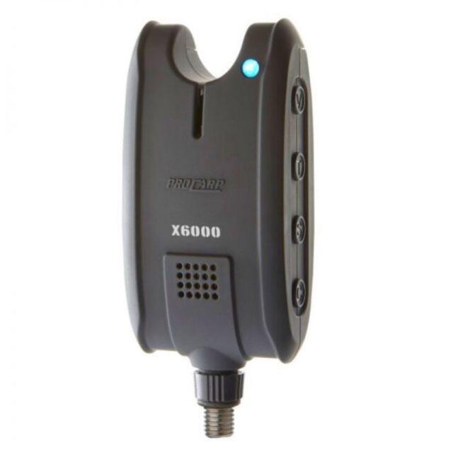 LED Licht Farbe Einstellbar Cormoran PRO CARP X-6000 Elektrischer Bissanzeiger