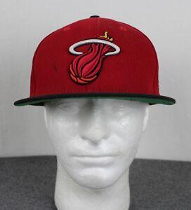 reputable site 8a2cc 07fae Image is loading Miami-Heat-New-Era-9fifty-Hardwood-Classics-NBA-