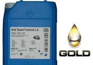 5W-30-ARAL-Super-Turboral-LA-Nutzfahrzeugeoel-LKW-Ol-20-Liter