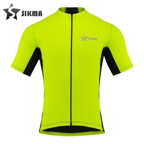 Maillot de cyclisme manches courtes homme vélo shirt Homme Vélo Jersey Team Racing