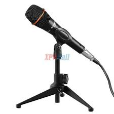 Desk Table Top Tripod Mic Microphone Stand Mount Holder Boom W/ Clip Metal NE%