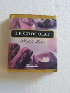 Charitable Le Chocolat. Plaisir Divin - Brian Perrin -minilibri Mini Livre Moderne Et EléGant à La Mode