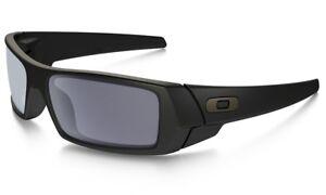 bd22e97ac8a Image is loading NEW-Oakley-Gascan-Sunglasses-Matte-Black-Grey-Lens-