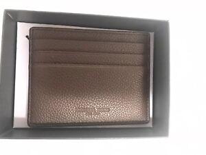 7b0a48ca95769a Michael Kors New Mens Reusse Leather Card Holder Black Case Gift Box ...