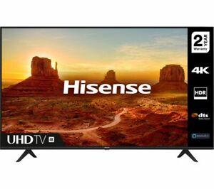 """HISENSE 58A7100FTUK 58"""" Smart 4K Ultra HD HDR LED TV - Currys"""