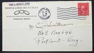 Minerva-Lodge-Odd-Fellows-Temple-US-Advertising-Cover-Portland-USA-Letter-Y-119