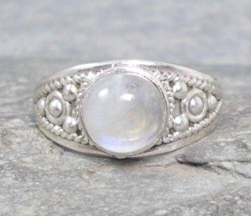 925 Silver MOONSTONE Ring Sz L,M,N,O,Q,S 1//2 R474~Silverwave*uk Jewellery