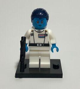 Custom Star Wars minifigures Grand Admiral Thrawn on lego brand bricks