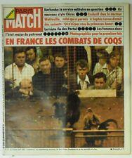 Paris Match N° 1339 - 25 janvier 1975 - Combats de coqs, Sophia Loren