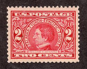 US # 370 (1909) 2c - MNH/OGnh - Grade: XF Nicely centered.
