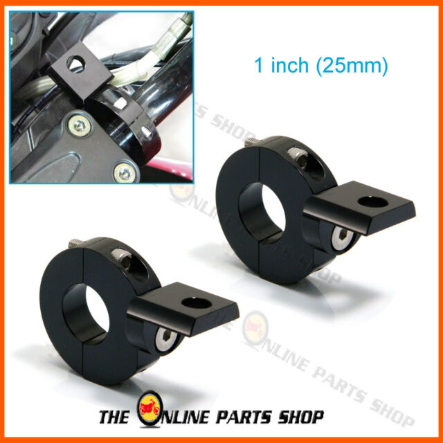 """1"""" 25mm CNC Motorbike Crash Bar Clamps/Brackets For Suzuki GSR 600 / GSR 750"""