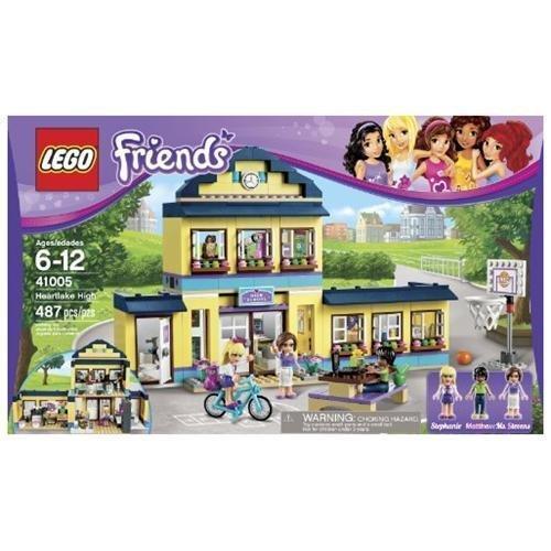 Lego friends heartlake high 41005 ebay - Lego friends piscina ...