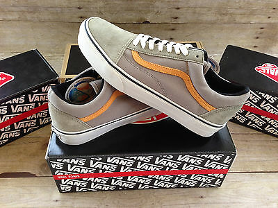 9fcd2be18f8 VANS OLD SKOOL REISSUE CA CANVAS SUEDE VETIVER BUTTERSCOTCH MENS SIZE 9