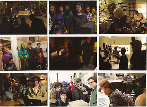 Kick-Ass-Trading-Cards-BEHIND-THE-SCENES-9-Card-Insert-Set