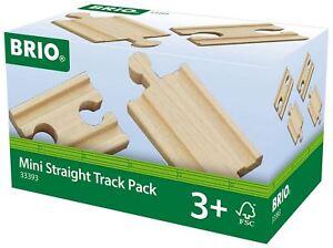 Brio-MINI-STRAIGHT-TRACK-PACK-Wooden-Toy-Train-BN