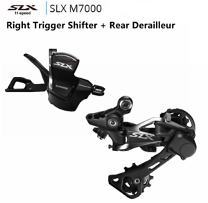 Shimano SLX M7000 11 Speed Trigger Shifter + 11 Speed Rear Derailleurs Group