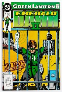 Green-Lantern-Emerald-Dawn-II-1-1991-DC-Unread-NM
