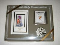 My First Holy Communion Girls Gift Set with Prayer Book, Rosary, and Cross