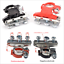 thumbnail 1 - 2x Vehicle Pure Copper Tinned Battery Terminal Quick Connector Cable Clamp Clips