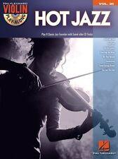 Violin Play-Along Volume 36 Hot Jazz, Backing Tracks, English - 9781476875439