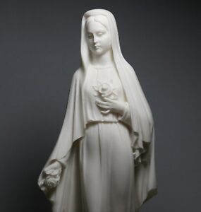 Virgin-Mary-Mother-of-JESUS-Holy-Our-Lady-Of-Rose-Madonna-Statue-Sculpture