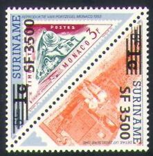 Surinam 2004 Trains/Steam/Rail/Railways/Transport/S-on-S/Surch  t-b pr (n35229)