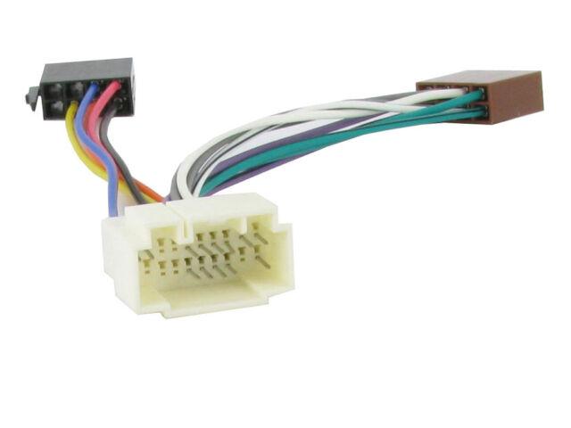 Honda Civic Cr-v CD Radio Stereo Headunit ISO Wiring Harness Adaptor on