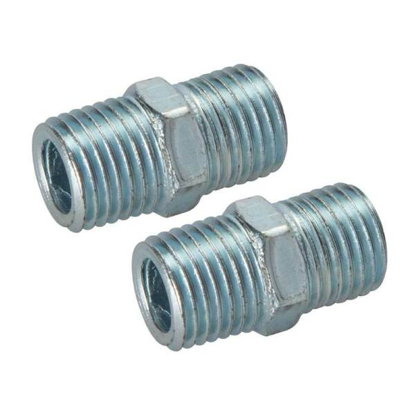 """1/4"""" Bspt Male To Male Adaptor Union Fitting Connector For Connecting Air Tools"""