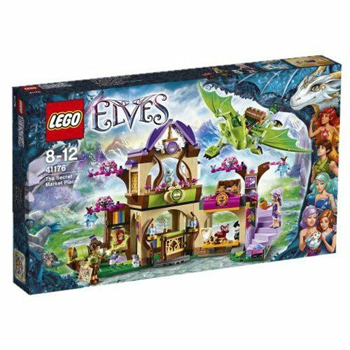 Kc02 lego elfo mercado secreto 41 176
