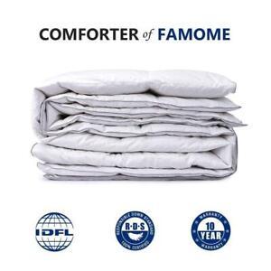 Luxury-Premium-Goose-Down-feather-Comforter-Duvet-Cover-Insert-Queen-King-Size