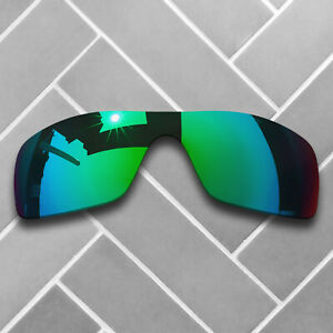 first look offer discounts 50% price Details about Polarized Jade Green Mirrored Sunglasses Replacement Lenses  for-Oakley Batwolf