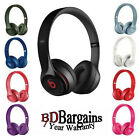 100% Original Beats by Dr. Dre Solo2 Wired Over Ear Pad Headband Headphones
