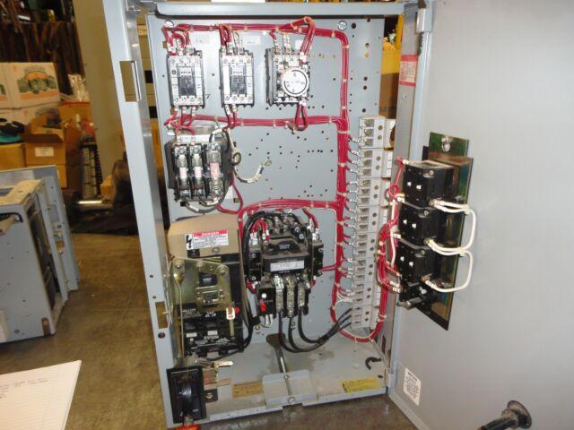 GE Model 8000 Motor Control Center Bucket FVNR 3 ph Size 1 Starter on