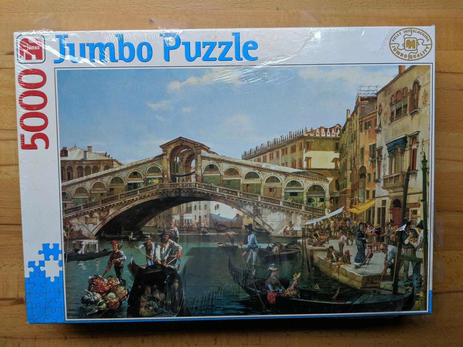 5000er Puzzle Jumbo   un giorno per il Ponte Rialto a Venezia   al prezzo più basso