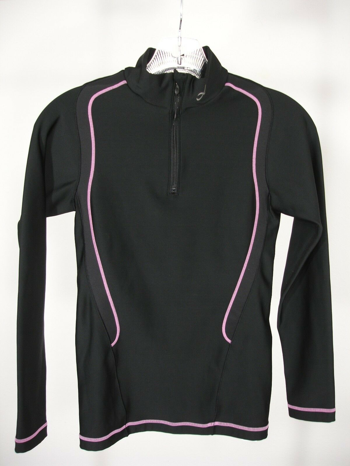 CW-X 160075 INSULATOR WEB TOP 1 2 ZIP LONG SLEEVE ATHLETIC TOP WOMEN'S XS